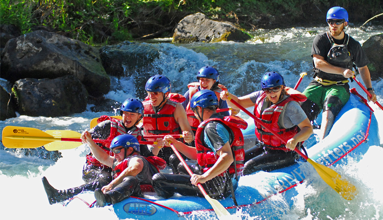 Oregon Rafting