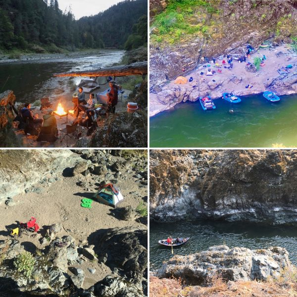 Remote Wilderness Camping Rogue River