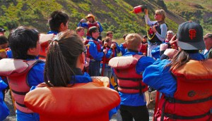 Safety speech on the Deschutes River