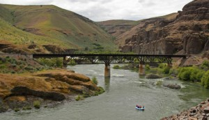 Trestle on the Lower Deschutes River