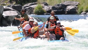 Wapinta Rapids on the Deschutes River